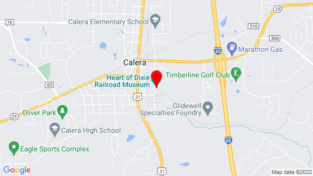 Google Map of 1919 9th Street, Calera, AL 35040