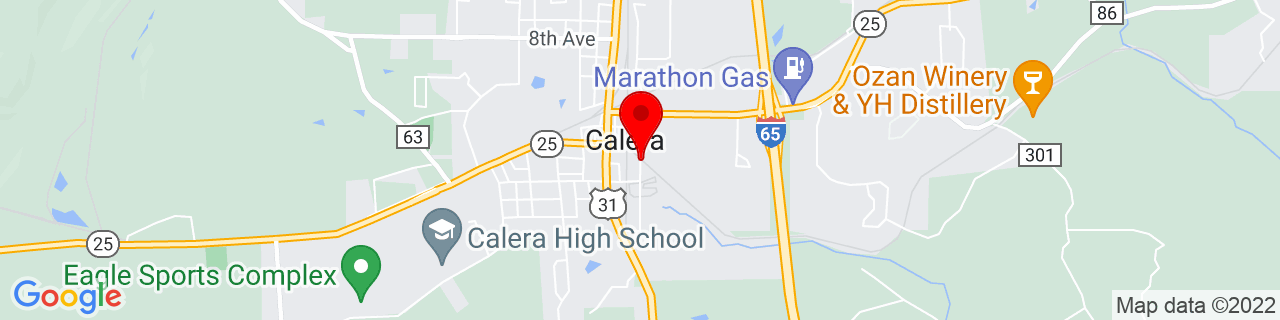 Google Map of 33.0996846, -86.7502105