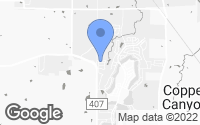 Map of Lantana, TX