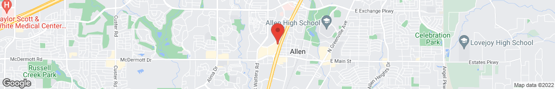Map of 209 Central Expressway N. in Allen