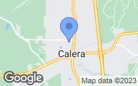 Map of Calera, AL