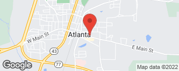 Map of 305 E Main St in Atlanta