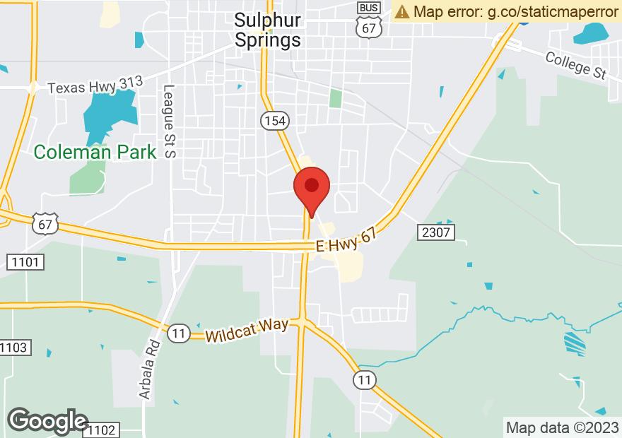 Google Map of 1130 S BROADWAY ST