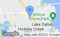 Map of Hickory Creek, TX