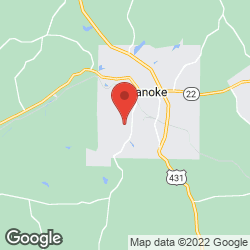 Roanoke Country Club on the map
