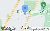 Map of Argyle, TX