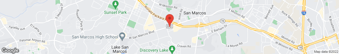 Map of 731 W San Marcos Blvd in San Marcos