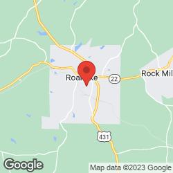 Roanoke Little League on the map