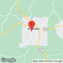 Roanoke Funeral Home on the map