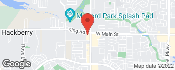 Map of 2650 King Rd in Frisco