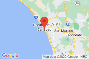 Map of Carlsbad