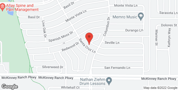 4606 Santa Cruz Lane Mckinney TX 75070