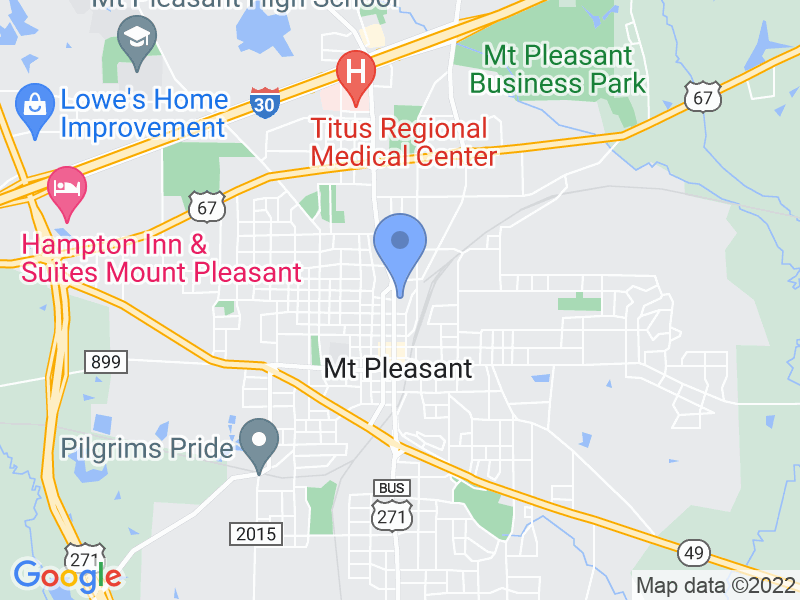 618 N Jefferson Ave, Mt Pleasant, TX 75455, USA