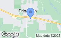 Map of Princeton, TX