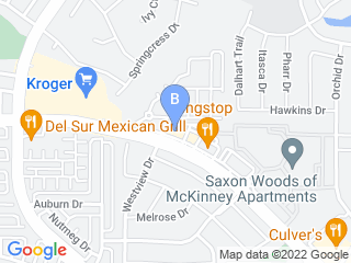 Map of Mans Best Friend Dog Boarding options in Mckinney | Boarding