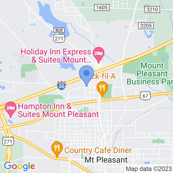 305 West 20th Street, Mount Pleasant, TX 75455, USA
