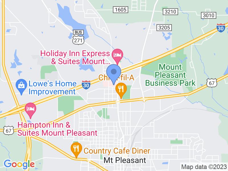 2001 North Jefferson Avenue, Mount Pleasant, TX, USA