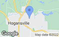 Map of Hogansville, GA