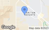 Map of Queen Creek, AZ