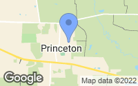 Map of Princeton, TX