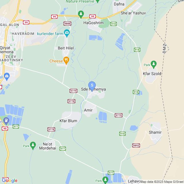 שדה נחמיה, ישראל