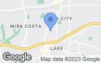 Map of Oceanside, CA
