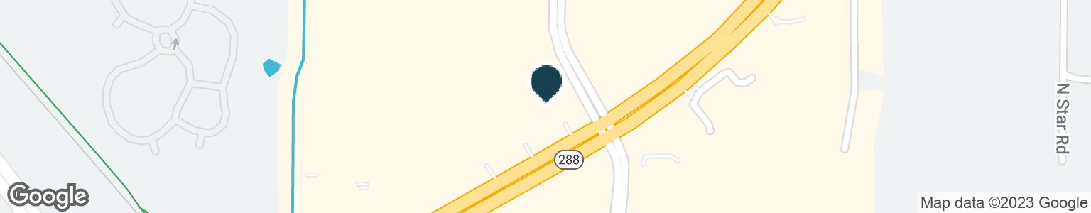 Google Map of1700 S LOOP 288