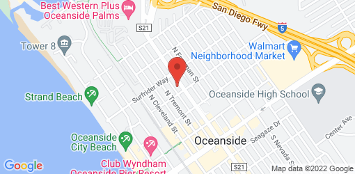 Directions to EVE Oceanside