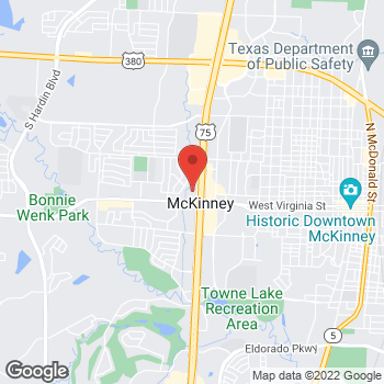 Map of Check `n Go at 321 N Central Expressway, McKinney, TX 75070