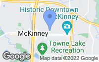 Map of McKinney, TX
