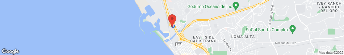 Map of 487 Harbor Dr in Oceanside