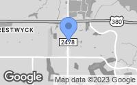 Map of McKinney, TX