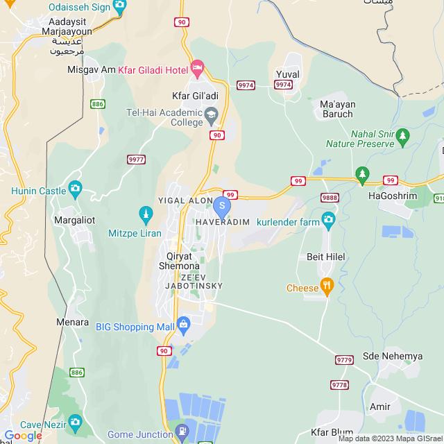הורדים, קרית שמונה, ישראל
