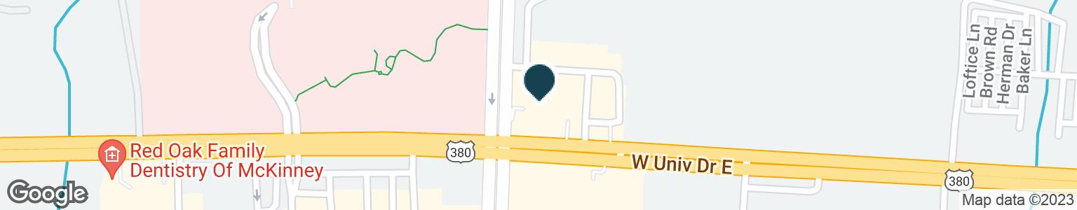 Google Map of4994 W UNIVERSITY DR