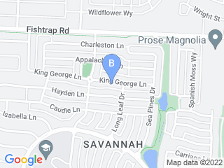 Map of Savannah Pet Nanny Dog Boarding options in Aubrey | Boarding