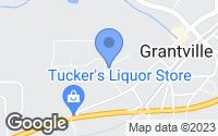 Map of Grantville, GA