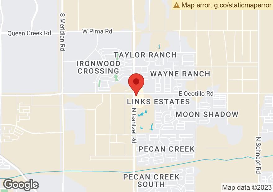 Google Map of 40663 N GANTZEL RD