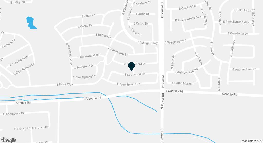 4684 E SOURWOOD Drive Gilbert AZ 85298