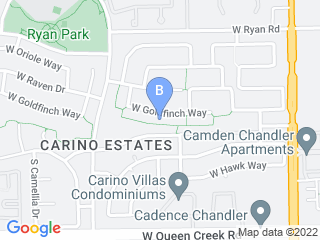 Map of Tail Waggers Pet Sitting Dog Boarding options in Chandler | Boarding
