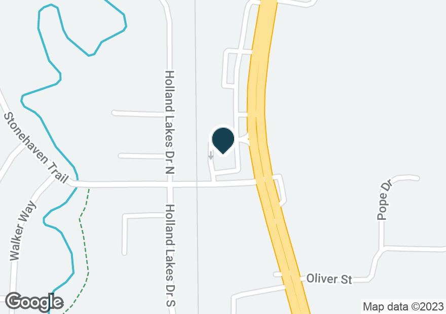 Google Map of3340 PELHAM PKWY