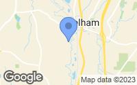 Map of Pelham, AL