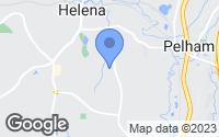 Map of Helena, AL