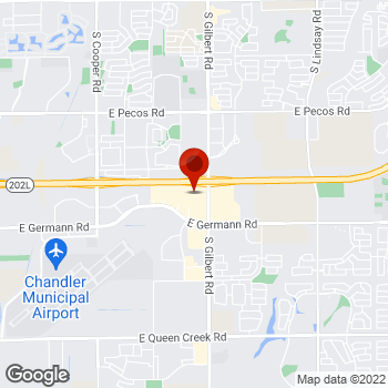 Map of Staples® Print & Marketing Services at 2840 E Germann Rd, Chandler, AZ 85286