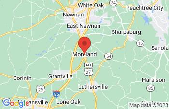Map of Moreland