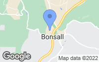 Map of Bonsall, CA