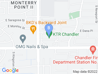 Map of Happy Pets Palace Chandler Dog Boarding options in Chandler | Boarding