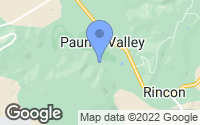 Map of Pauma Valley, CA