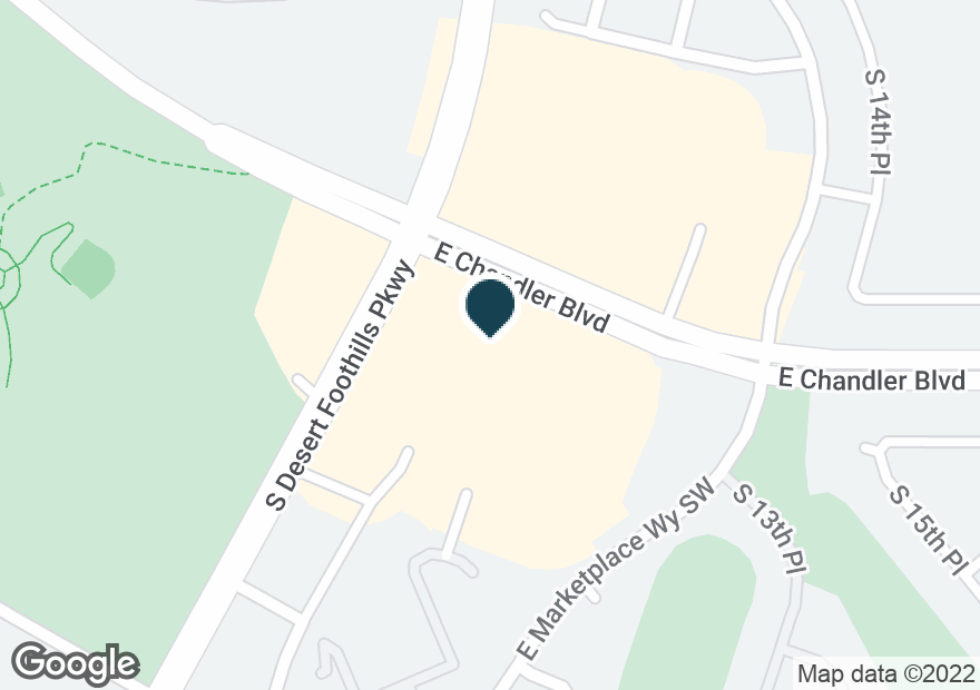 Google Map of1315 E CHANDLER BLVD