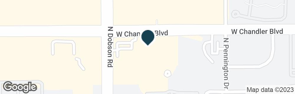 Google Map of1925 W CHANDLER BLVD