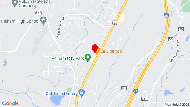 Google Map of 2000 Pelham Park Boulevard, Pelham, AL 35124